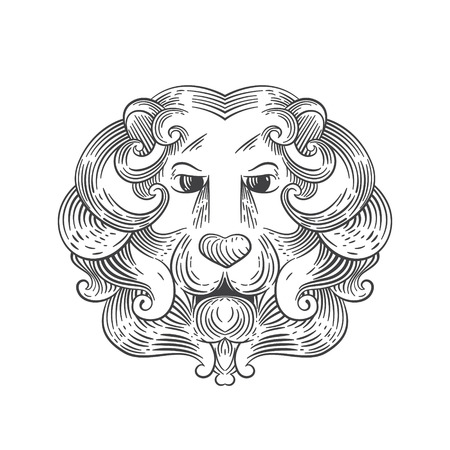 domination: Animal design template elements for your application or company or sport team branding