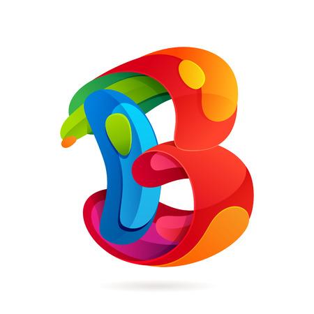 Brief veelkleurige vector ontwerp sjabloon elementen voor uw applicatie of huisstijl.