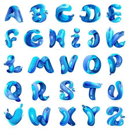 liquido: Elementos multicolores modelo de carta de diseño vectorial para su aplicación o identidad corporativa.