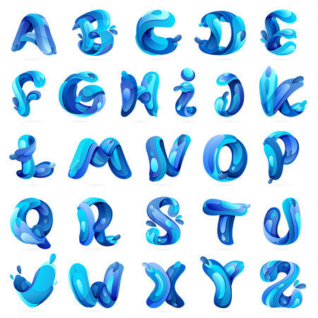 Letter multicolored vector design template elements for your application or corporate identity.