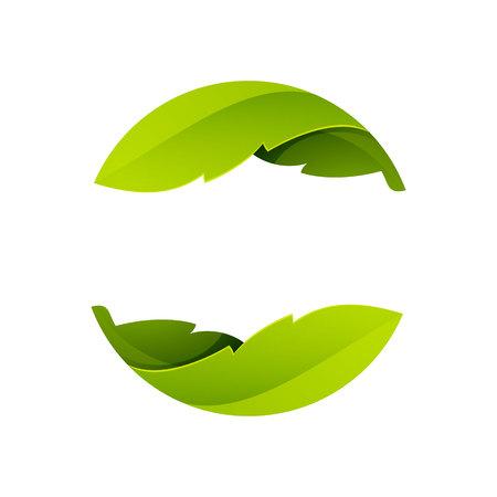 Yin yang, colorido concepto volumen. Vector de elementos de plantilla de diseño para su aplicación o identidad corporativa. Foto de archivo - 44941421