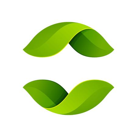 유행: 음과 양, 볼륨 다채로운 개념. 응용 프로그램이나 기업의 정체성 벡터 디자인 서식 파일 요소.