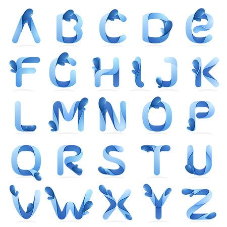 liquido: Volumen Carta colorido concepto. Vector de elementos de plantilla de diseño para su aplicación o identidad corporativa.
