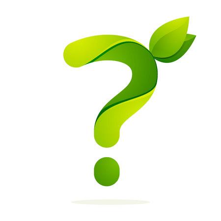 signo de interrogacion: Volumen Número colorido concepto. Vector de elementos de plantilla de diseño para su aplicación o identidad corporativa. Vectores