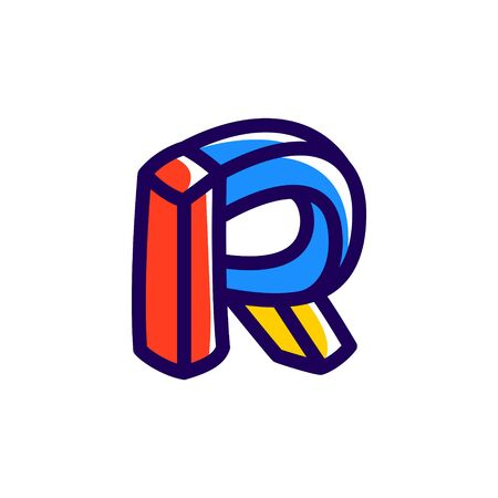 R letter icon.