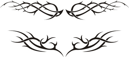 Tribal tattoo Stock Vector - 4415299