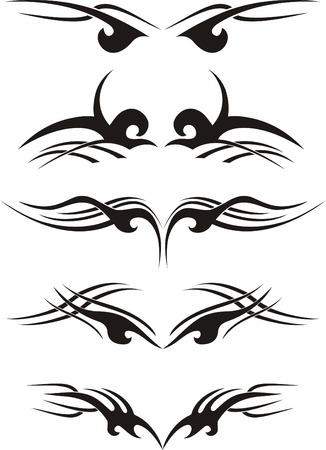 Tribal tattoo Stock Vector - 4438535