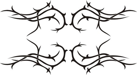 Tribal Tattoo Stock Vector - 4848595