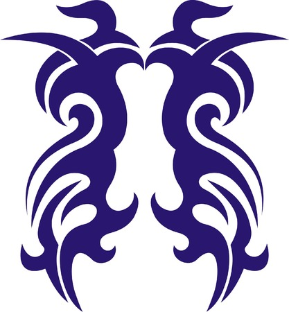 Tribal tattoo Stock Vector - 4854702