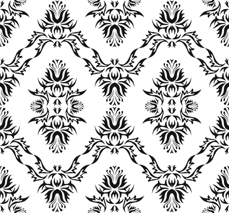 Damask (Victorian) seamless pattern Stock Vector - 5049531