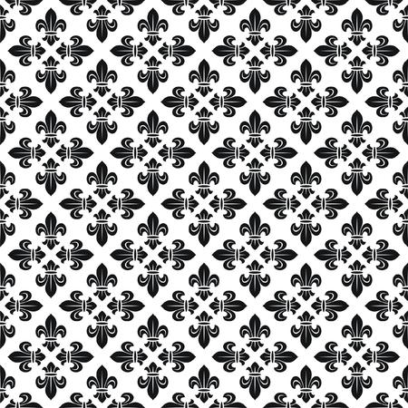 wry: Seamless texture with fleur-de-lis
