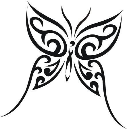 tatouage papillon: Papillon tatouage