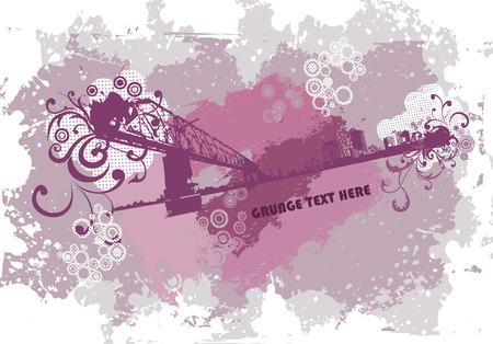Grunge urban background Stock Vector - 5220009