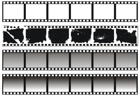 Collection of filmstrips Stock Vector - 5486637