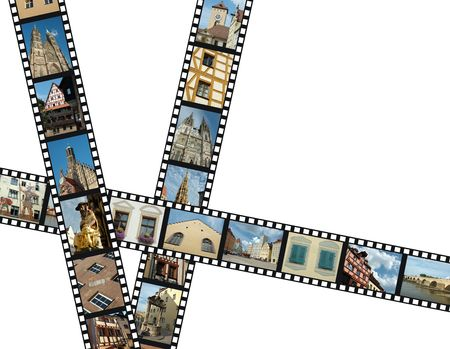 Filmstrips with travel photos of southern Germany - Bavaria  photo