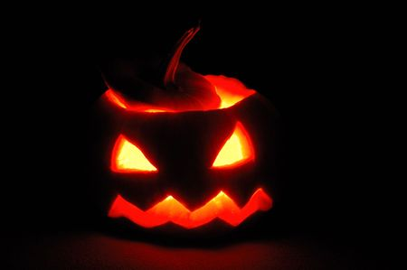Halloween pumpkin - Jack O'Lantern Stock Photo - 5782148