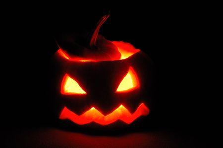 Halloween pumpkin - Jack OLantern photo