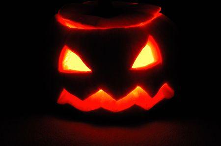 Halloween pumpkin - Jack O'Lantern Stock Photo - 5798891