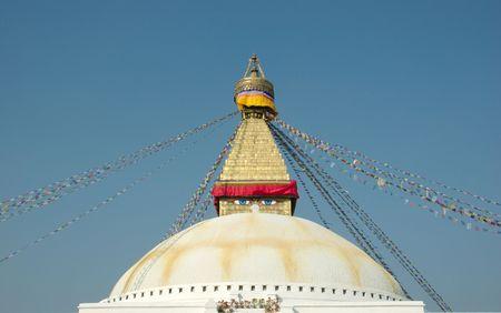 Boudhanath Stupa in Kathmandu photo