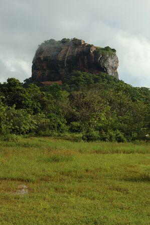 Sigiriya - Lions Rock In Sri Lanka,ancient Fortress And Palace photo