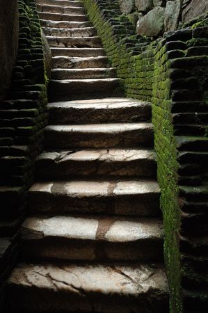 jailhouse: Old stairs to jail