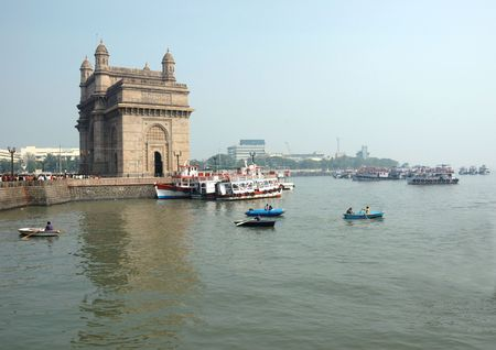 seafronts:  Gateway of India  in Mumbai ( Bombay), India