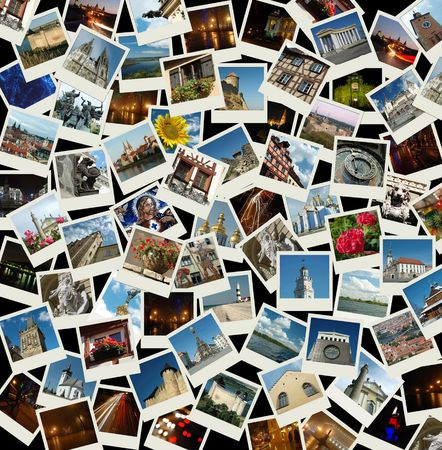 central europe: Go Europe -  collage  with travel photos of Northern and Central Europe