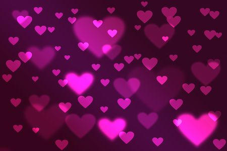 Valentine's Day Background Bokeh Stock Photo - 6762015