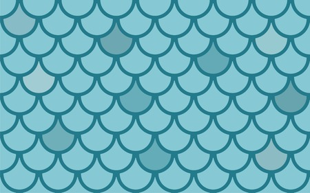 Seamless  texture with fish scales Vector