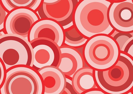 outmoded: Retro texture with circles