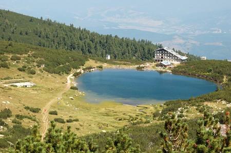 Famous Lake Bezbog in Pirin mountains,Bulgaria photo
