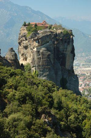 Holy Trinity (Agia Triada)rock monastery,Meteora,Greece photo