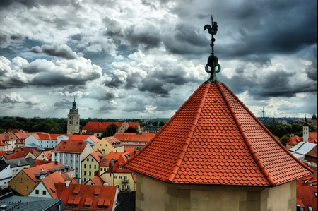 View of Old Regensburg ,Bavaria,Germany,Unesco heritage,HDR image Stock Photo - 7967316
