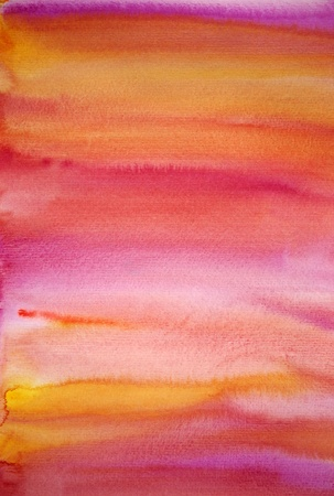Watercolor pink hand painted art background for scrapbooking  photo