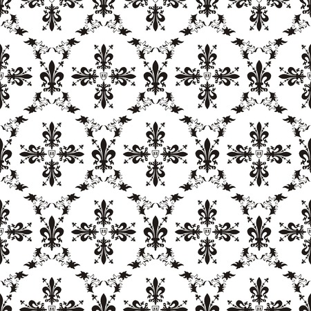 Seamless victorian royal texture Stock Vector - 8767211