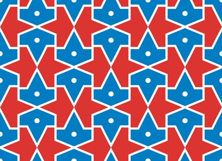 outmoded: Seamless traditional islamic pattern -girih