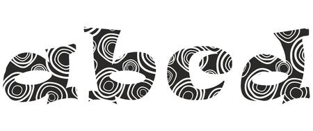 literals -a,b,c,d Ilustracja