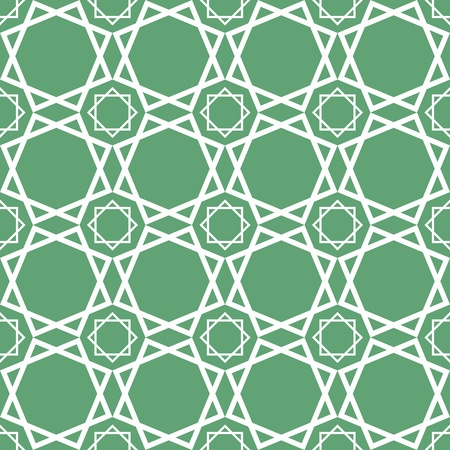 Seamless traditional geometrical islamic ornament - girih,vector texture