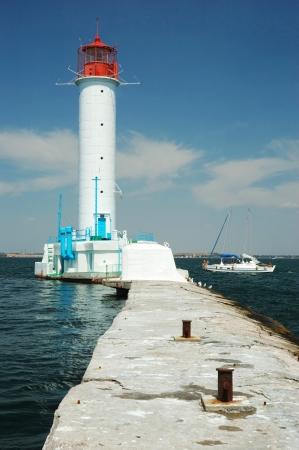 Vorontsov Lighthouse in Odessa photo