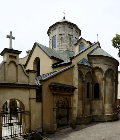 lemberg: Armenian Cathedral of the Assumption of Mary,Lemberg  Lviv ,Ukraine Historical city center of Lvov listed ais UNESCO World Heritage