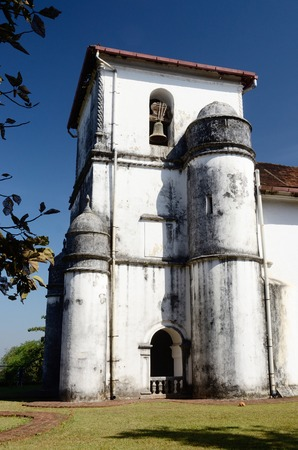 Church of Lady of the Rosary in Old Goa,Portuguese India photo