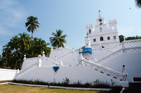 Our Lady of the Immaculate Conception Church - North Goa,Panaji,India photo