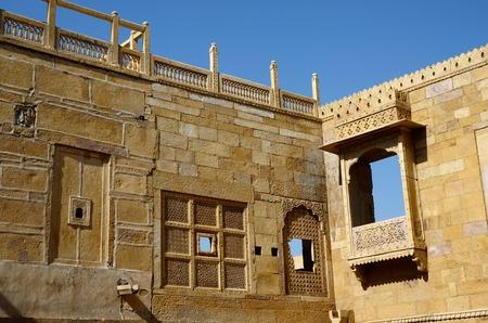 Traditional hindu architecture of Jaisalmer fort