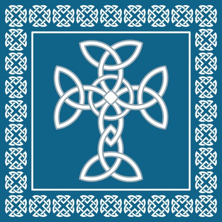 pagan cross: Celtic cross, symbolizes eternity