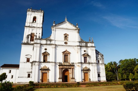 goa: Church of St. Francis of Assisi in Old Goa, India.Velha Goa is a historical city in North Goa district in the Indian state of Goa