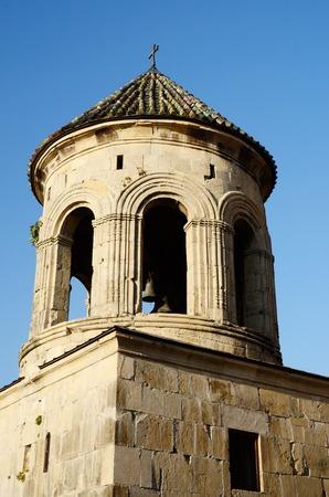 kutaisi: Bell tower in Gelati Monastery near Kutaisi ,Imereti, western Georgia, unesco heritage site