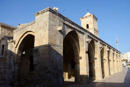 lazarus: Church of Saint Lazarus, 9th century christian temple in Larnaca (Cyprus), where this biblical character was buried there for the second and last time Stock Photo