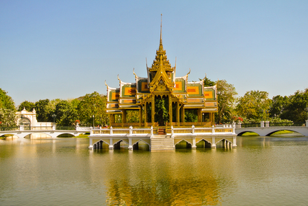 Royal palace in Thailand.