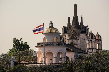 Palace Phra Nakhon Khiri Park that major attraction in Phetchaburi Thailand