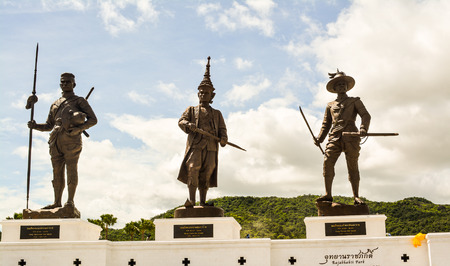 signify: Rajabhakti park is the name that has been given the name of the King. Signify the park was built with loyalty to the king. Located in Hua Hin  Prachuap Khiri Khan Thailand